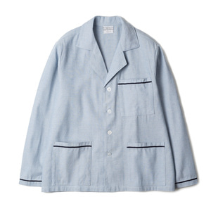 "YMCL KY Italy Sleeping Shirts ""Sax Blue"""