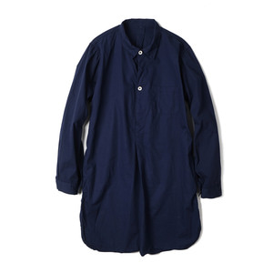 YMCL KY Sweden Type Grandpa Shirt 'Navy'