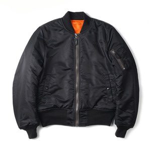 "YMCL KY US Type MA-1 Flight Jacket 8279D Model ""Black"""