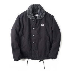 "YMCL KY US Type N-1 Deck Jacket Wash ""Black"""