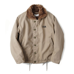 "YMCL KY US Type N-1 Deck Jacket Wash ""Khaki"""