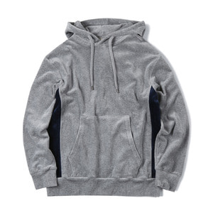 "SHIRTER Velour Sweat Parka ""Grey"""