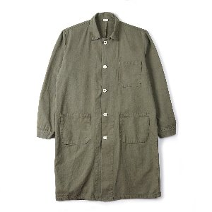 "YMCL KY Czech Type Work Coat ""Olive"""
