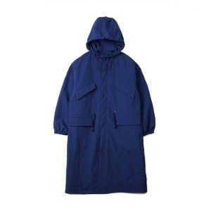 "CONICHIWA bonjour Wide Safari Coat ""Navy"""