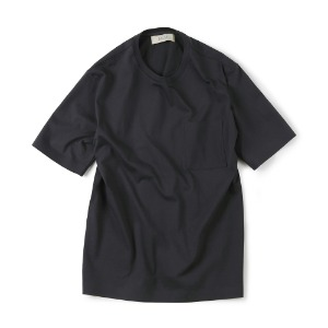 "SHIRTER Seamless Hem T-Shirt ""Charcoal"""