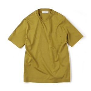 "SHIRTER Seamless Hem T-Shirt ""Golden Lime"""