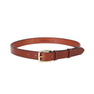 "BRADY BAGS West End Leather Belt ""Tan"""