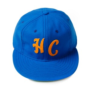 "WAREHOUSE x EBBETS FIELD Baseball Cap ""HC West Coast Color - Blue"""