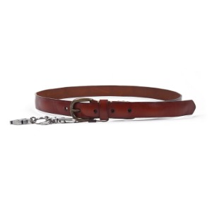 "ATEASE Love Wash Leather Belt ""Brown"""