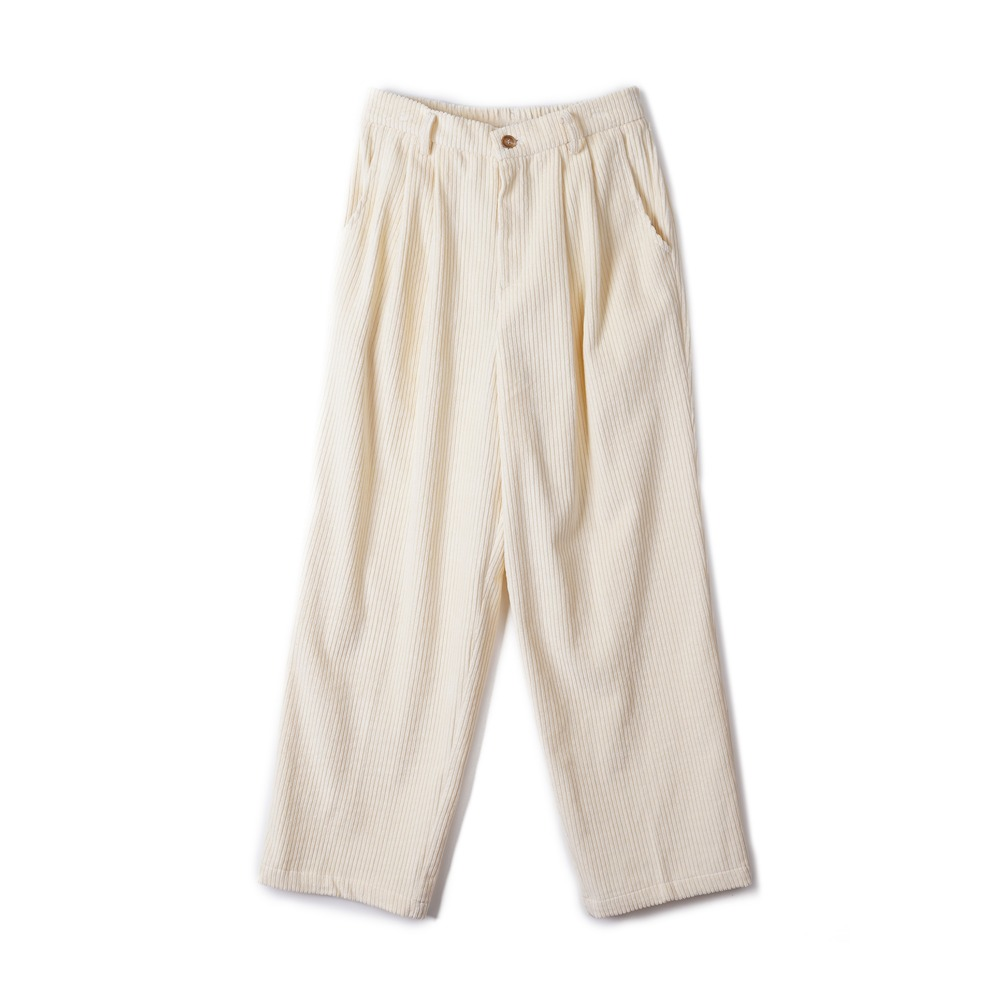 "CONICHIWA BONJOUR Wide Pants ""Cream"""
