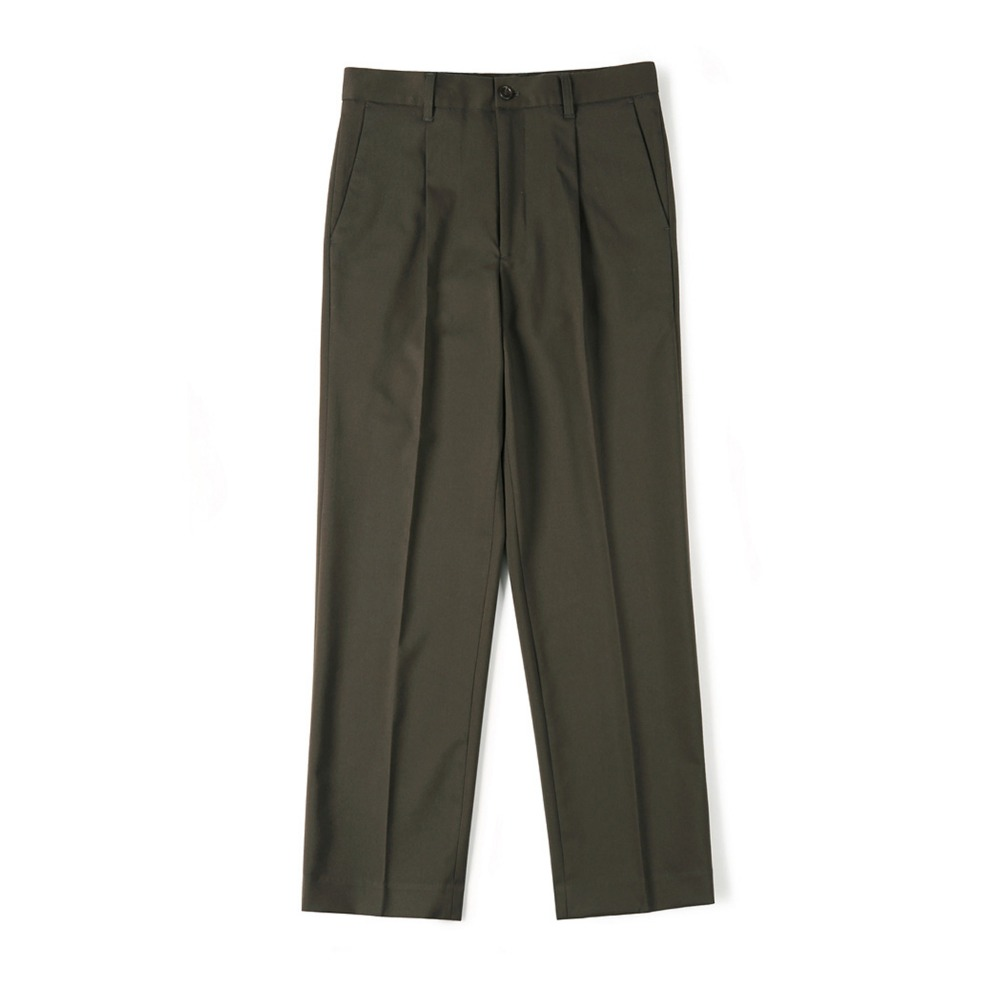 "SHIRTER Cinch-Back Loose Fit Pants ""DARK BROWN"""