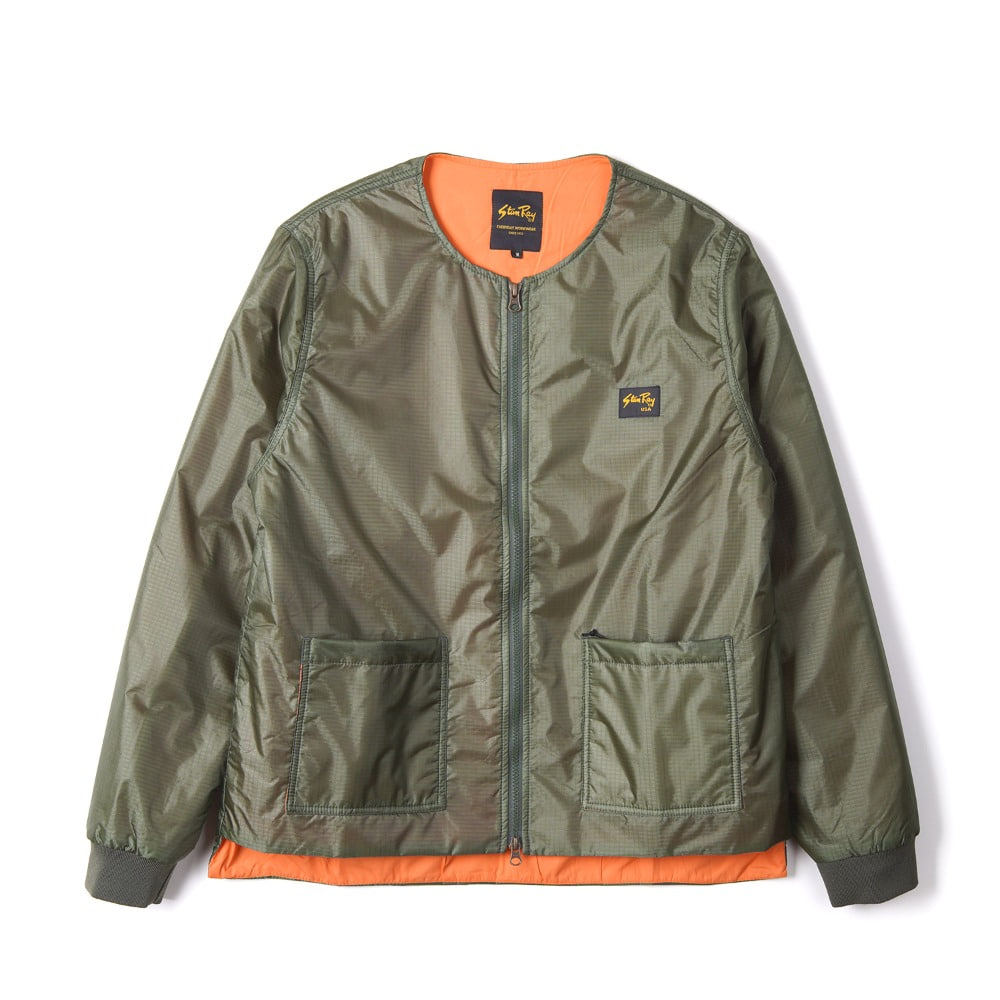 "STAN RAY Liner Jacket ""Olive Nylon R/S"""
