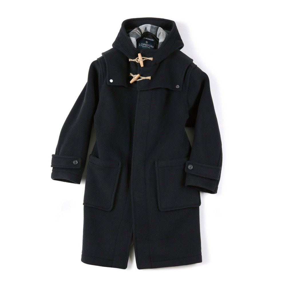 "SHIRTER Detachable Duffle Coat ""Dark Navy"" [ LONDON TRADITION for SHIRTER ]"