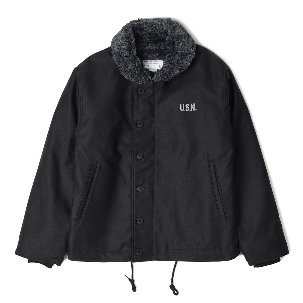 "YMCL KY US Type N-1 Deck Jacket ""Black"""