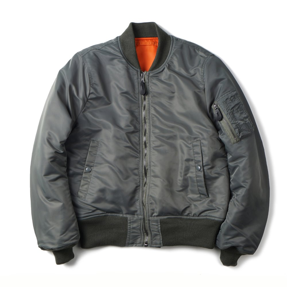"YMCL KY US Type MA-1 Flight Jacket 8279D Model ""Sage"""