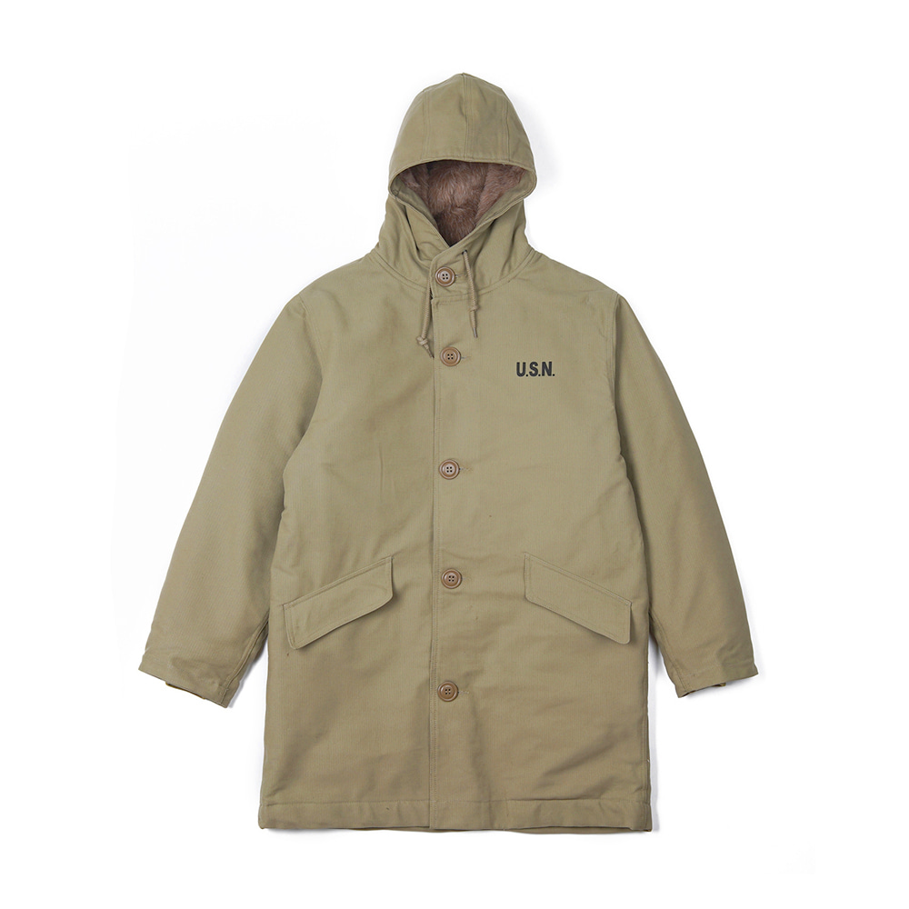 "YMCL KY US Type N-2 Deck Coat ""Khaki"""
