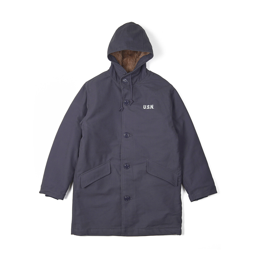 "YMCL KY US Type N-2 Deck Coat ""Navy"""