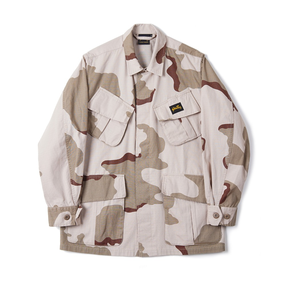 "STAN RAY Tropical Jacket ""Desert Storm Camo"""