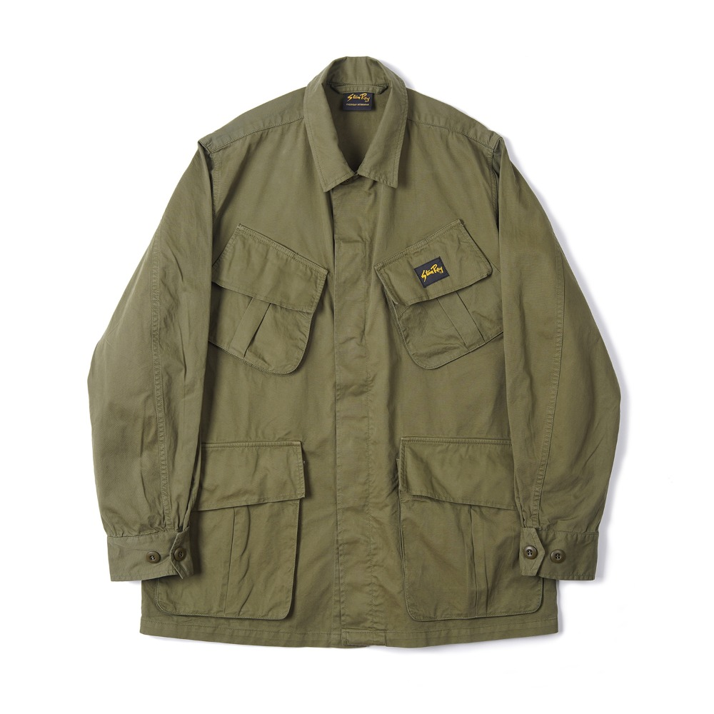 "STAN RAY Tropical Jacket ""Olive Taffeta"""