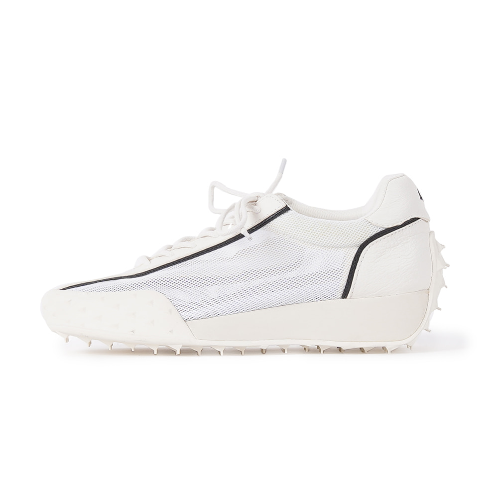 "FOOT INDUSTRY Mesh Shoes ""Bright White"""
