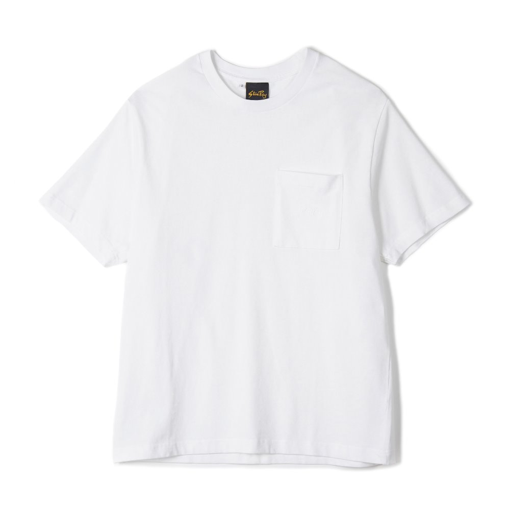 "STAN RAY Patch Pocket T-Shirt ""White"""