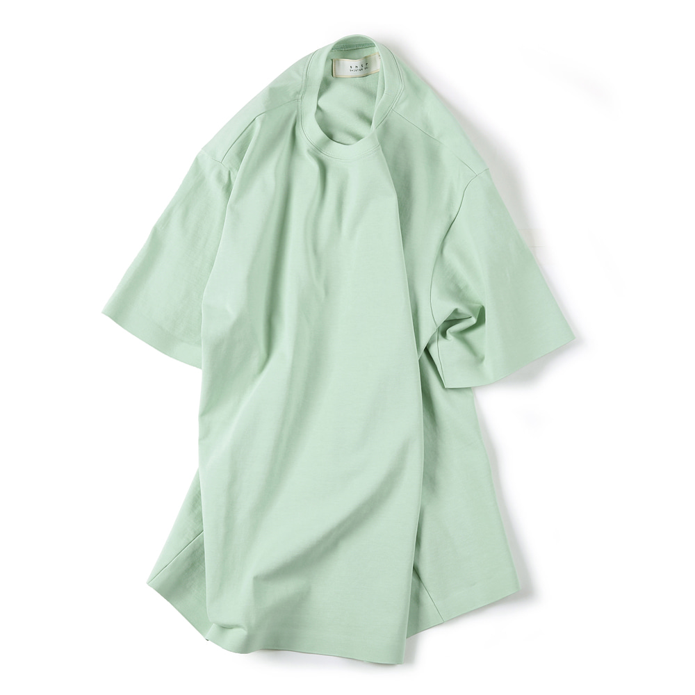 "SHIRTER 02 Seamless Hem T-Shirt ""Mint"""