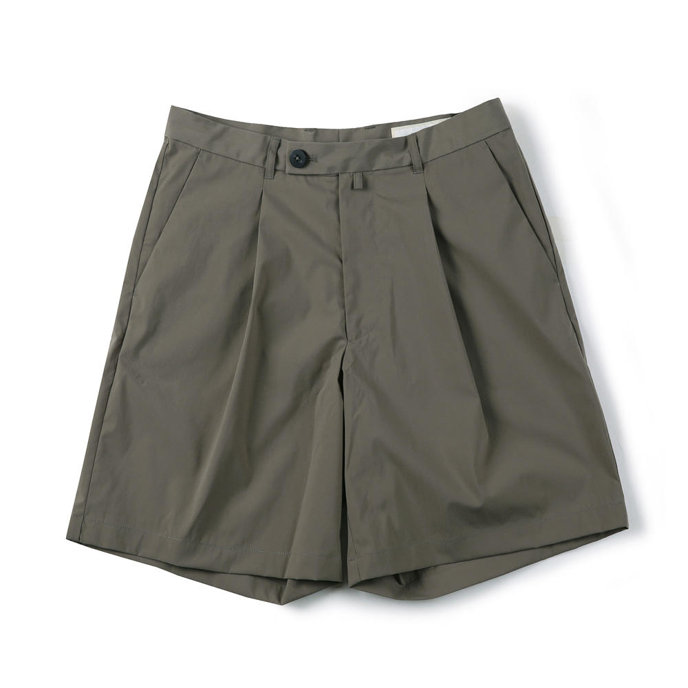 "SHIRTER Eco Dry Light Wide Shorts ""Khaki"""