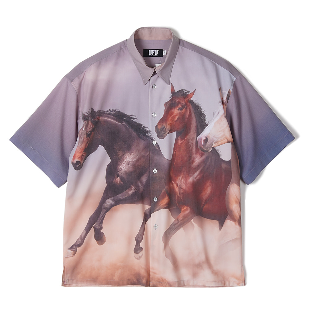 "USED FUTURE Horse Shirt ""Sand"""