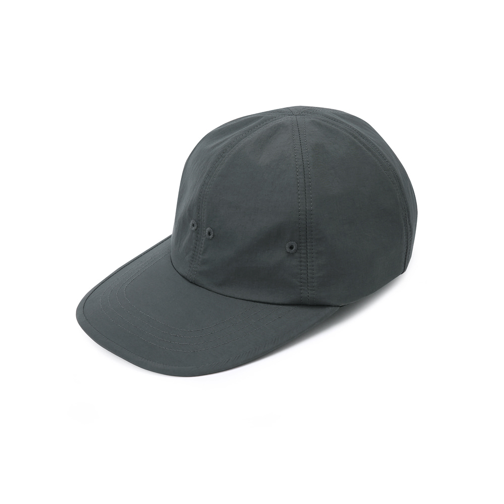 "SHIRTER Long Visor 6panel Cap ""Dark Grey"""