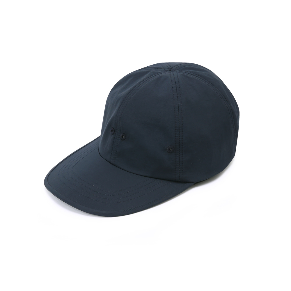 "SHIRTER Long Visor 6panel Cap ""Navy"""