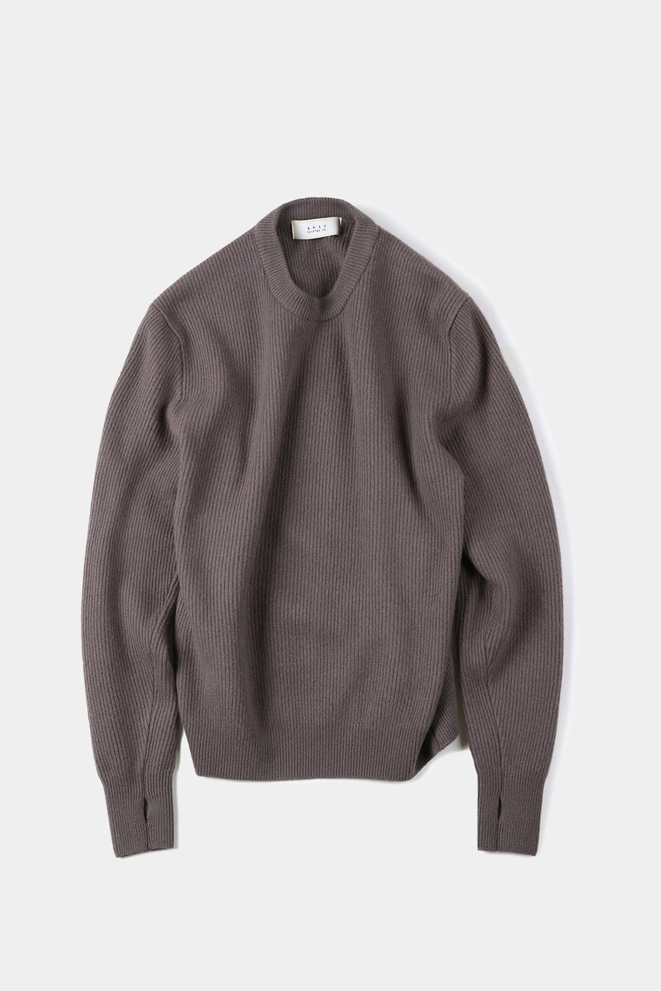 "SHIRTER Wanderer Crew Neck Knit ""Purple"""