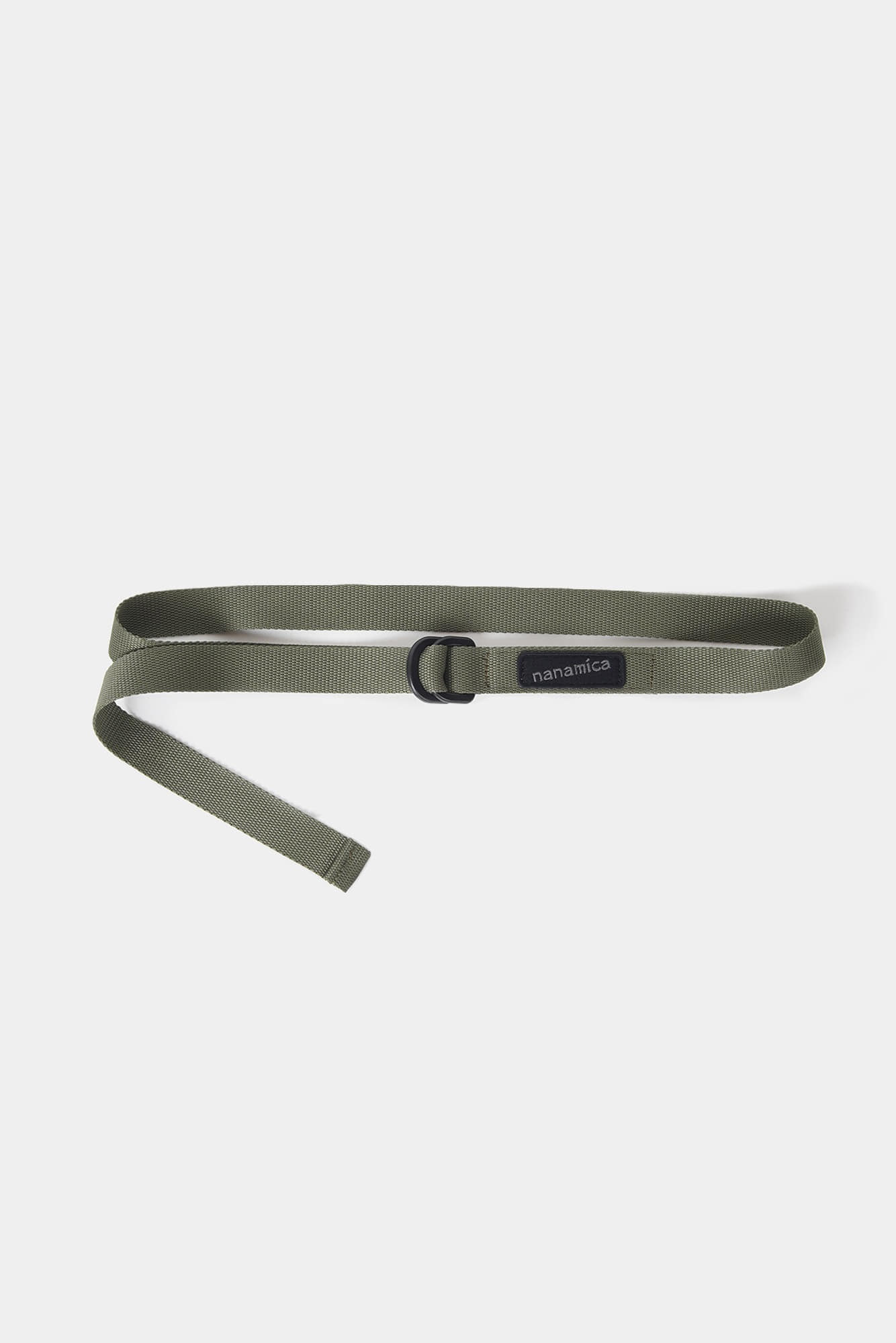 "NANAMICA nanamican Tech Belt ""Khaki"""