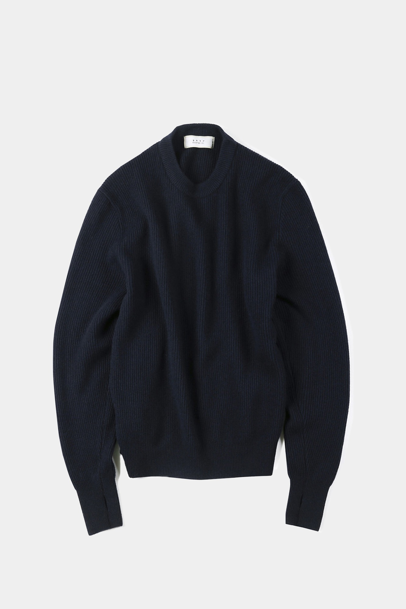 "SHIRTER Wanderer Crew Neck Knit ""Dark Navy"""
