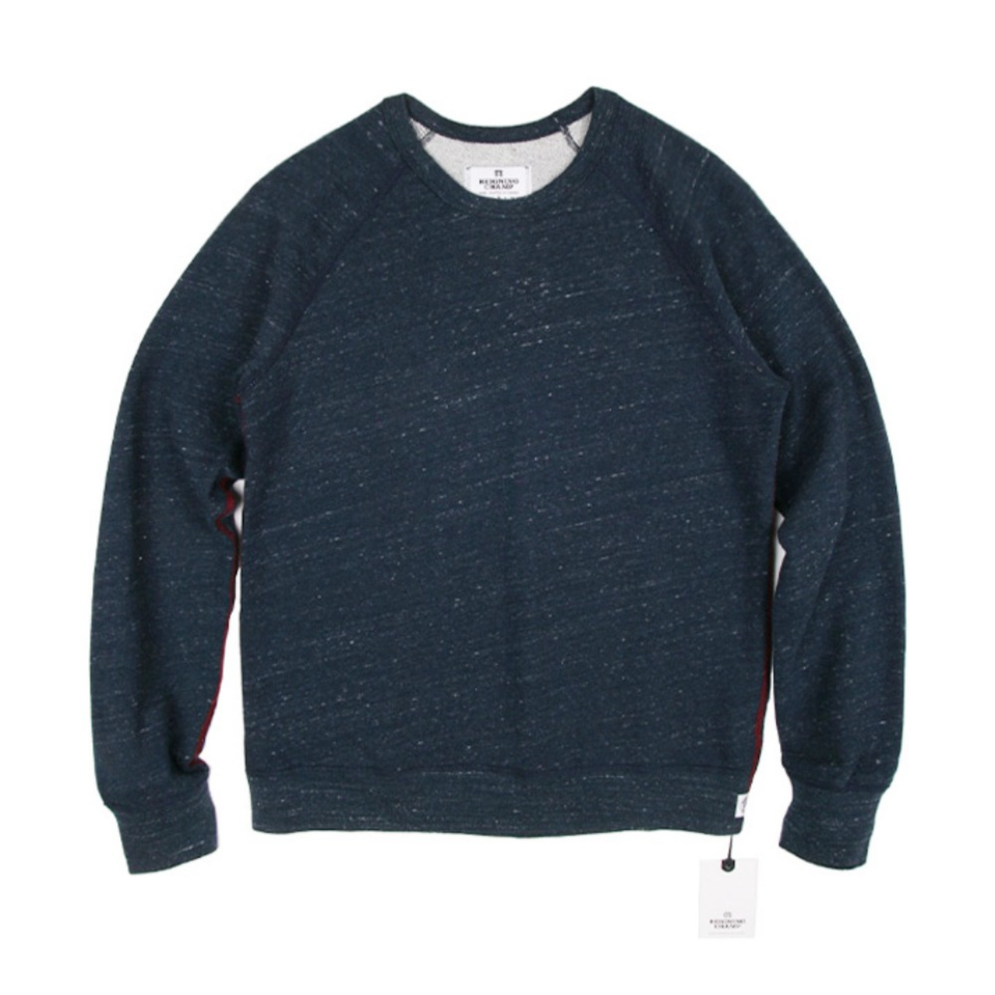 "REIGNING CHAMP L/S Heather Jersey Raglan T-Shirt ""H.Navy"""