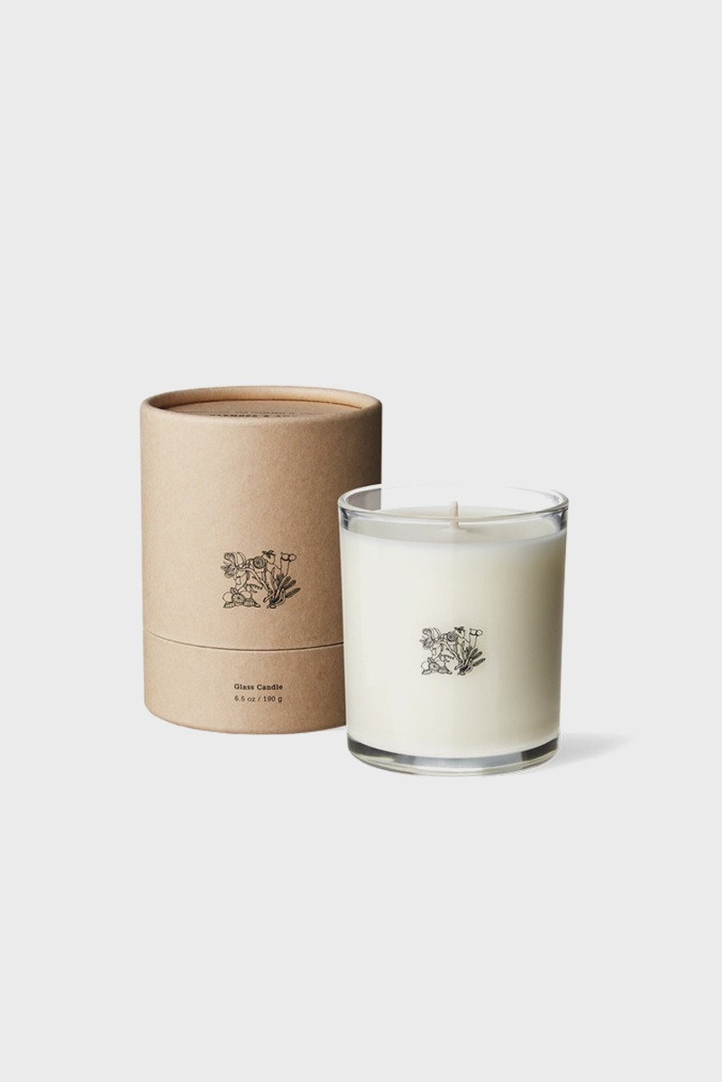 "APOTHEKE FRAGRANCE Glass Candle ""Blue Hour"""
