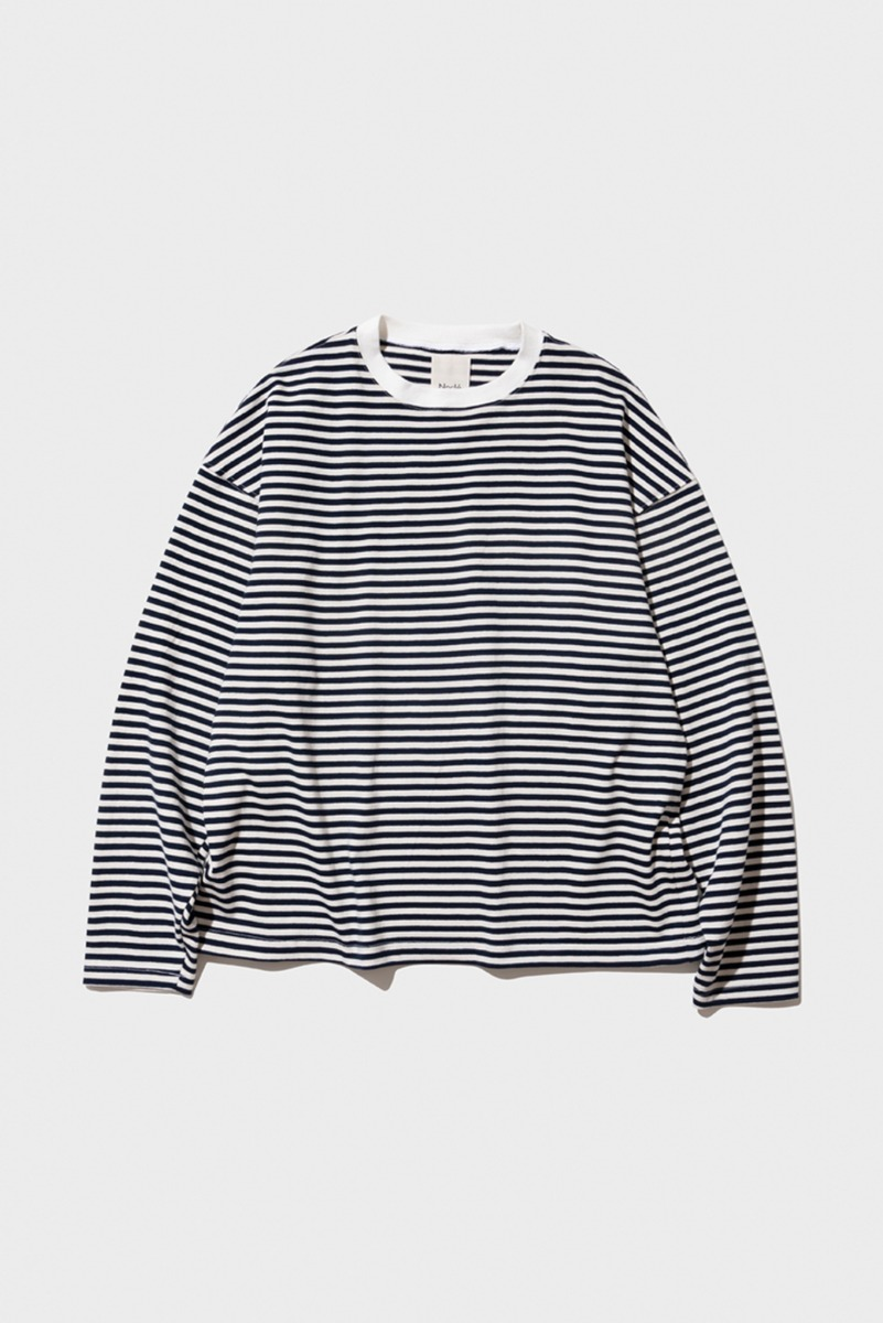 "Nocle Relax Stripe Tee ""Navy"""