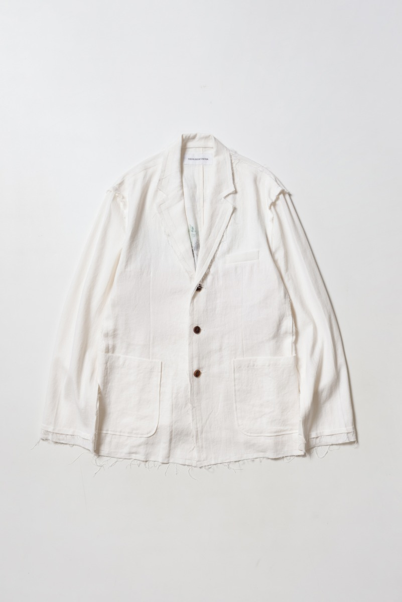 "THE MUSEUM VISITOR Museum Couture Blazer ""Off White"""