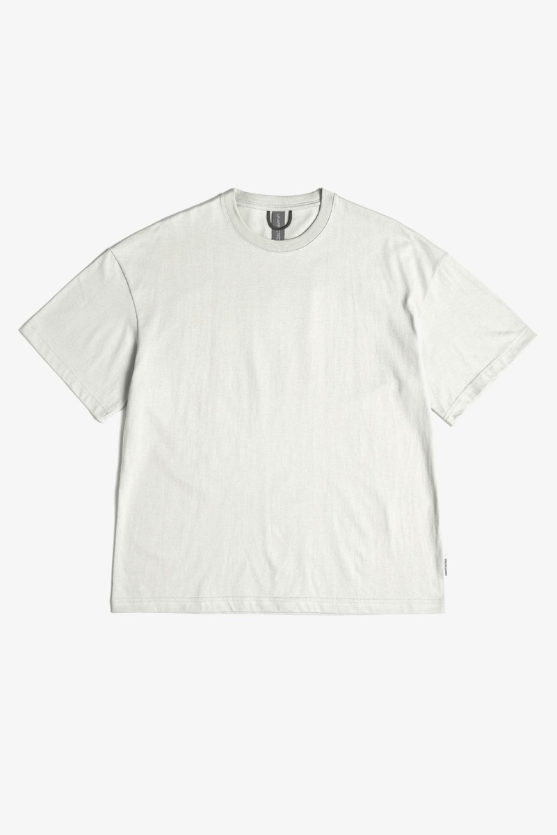 "UNAFFECTED Logo Label T-Shirt ""Light Grey"""